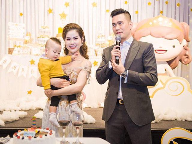 Vợ Việt Anh Người phán xử lần đầu kể lại quãng thời gian trầm cảm vì một mình chăm con