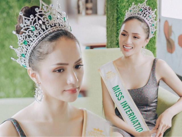 HH Hương Giang: Tôi muốn đưa cuộc thi Hoa hậu Chuyển giới về Việt Nam
