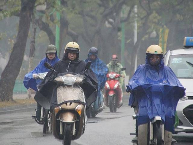 Tin mới thời tiết 19/3: Không khí lạnh tràn xuống, Hà Nội chuyển mưa rét 16 độ C
