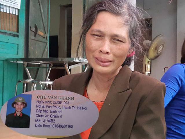 Mẹ chiến sĩ cảnh sát tử vong: Cái ôm của con vẫn còn ấm, mà nay con đã ra đi