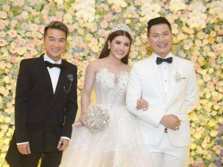 Hari Won, Đàm Vĩnh Hưng hội ngộ trong đám cưới Tố Ny và chồng cơ phó hàng không