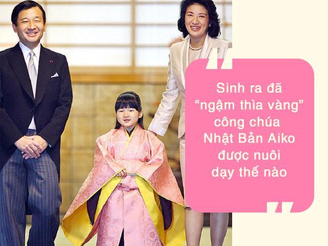 Sinh ra đã ngậm thìa vàng, Công chúa Nhật Bản Aiko được dạy tránh làm phiền người khác