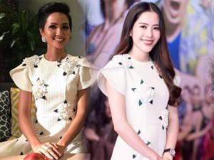 Nam Em chính là nữ hoàng đụng hàng mới nhất của showbiz Việt