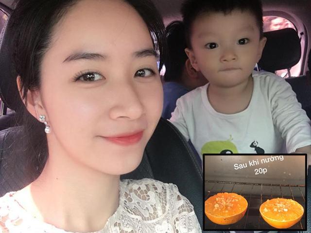 Trị ho cho cả mẹ và con bằng cam muối nướng, mẹ Hà Nội được khen hết lời