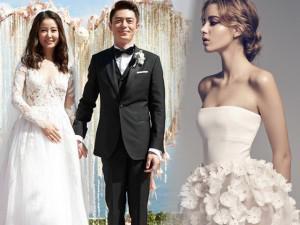 Từ kinh nghiệm bản thân, Lâm Tâm Như mách nước các bà bầu chọn váy cưới