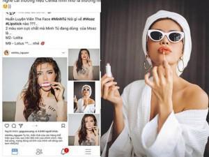 Minh Tú có là mỹ nhân tiếp theo dính thị phi vì quảng cáo mỹ phẩm?