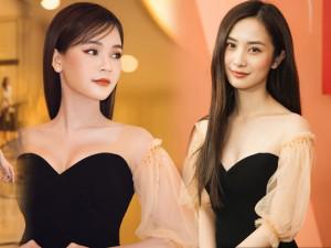 Sam và Jun Vũ đẹp bất phân thắng bại khi cùng diện một chiếc váy