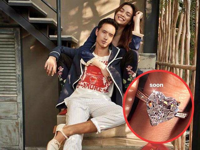 Nghi vấn Kim Lý tặng Hồ Ngọc Hà nhẫn kim cương, sắp làm đám cưới?