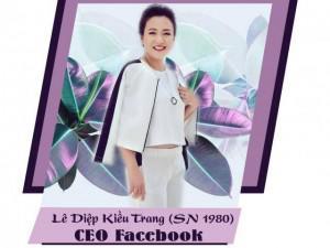 """Tiết lộ gia thế """"khủng"""" của tân Giám đốc Facebook Việt Nam Lê Diệp Kiều Trang"""