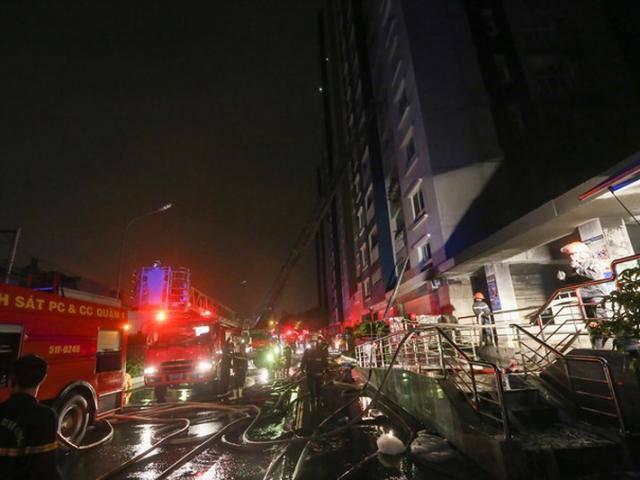 TPHCM: Cháy lớn chung cư cao cấp, đã có 13 người tử vong, 14 người bị thương