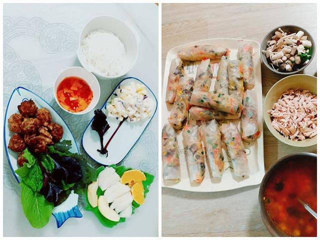 Cô vợ 9x khiến chồng Hàn quên luôn kim chi, cơm cuộn vì những món ăn đậm chất Việt