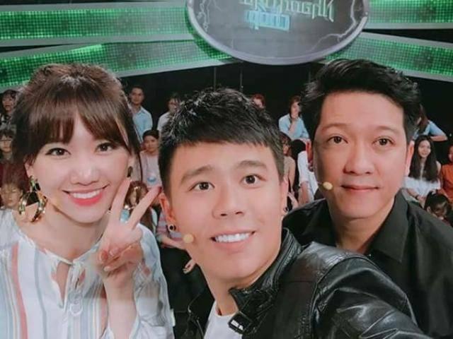 Trường Giang mệt mỏi chụp hình cùng Hari Won hậu scandal với Nam Em