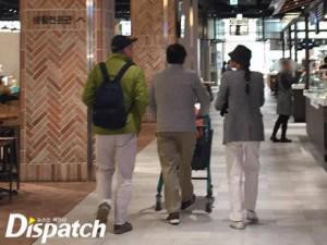 Chuyện thú vị: Người tình U60 và bố đẻ Kim Min Hee ở chung một chỗ trông như anh em