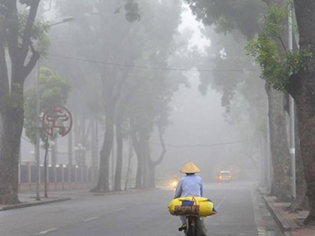 Tin thời tiết 26/3: Đầu tuần Hà Nội có sương mù kèm mưa nhỏ vào buổi sáng, ngày nắng nóng