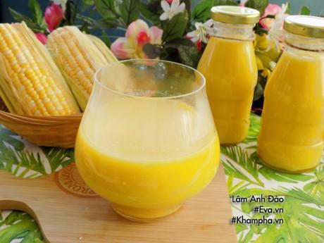 Cách làm sữa ngô thơm ngon, bổ dưỡng lại mát lạnh không lo nắng nóng