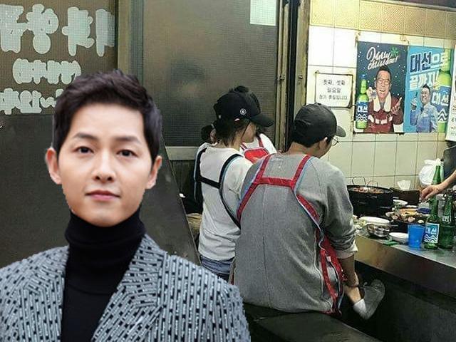 Không ai bện hơi vợ như Song Joong Ki, theo Song Hye Kyo đi khắp nơi