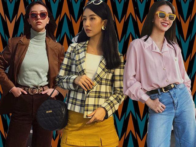 Không cần Tháng năm rực rỡ, Quỳnh Anh Shyn vẫn mê thời trang thập niên 70