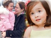 """Làm mẹ - Cận mặt nét đẹp hoàn hảo của con gái """"mỹ nhân đẹp nhất Phillipines"""""""