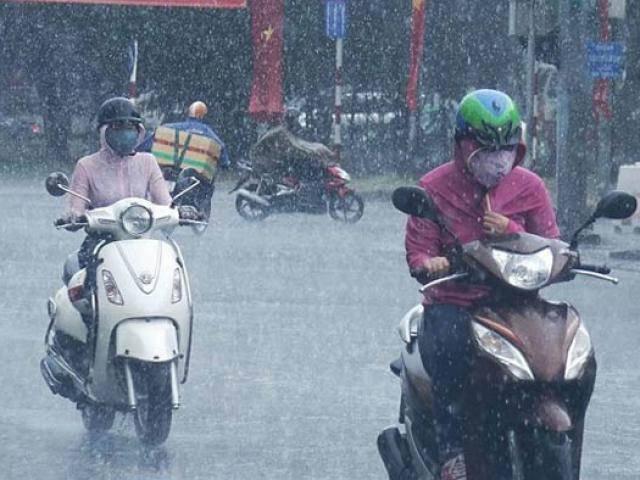 Tin mới thời tiết 28/3: Miền Bắc mưa diện rộng, Sài Gòn nắng nóng 35 độ C