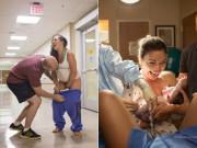 Những bức ảnh chân thực giúp bạn hiểu sinh con là khoảnh khắc đáng kinh ngạc đến thế nào