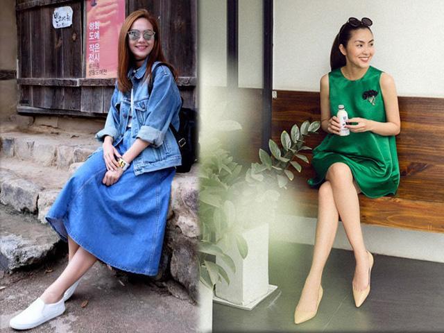 Ngoài Tăng Thanh Hà, còn 2 sao Việt  cũng không mặn mà với giày cao