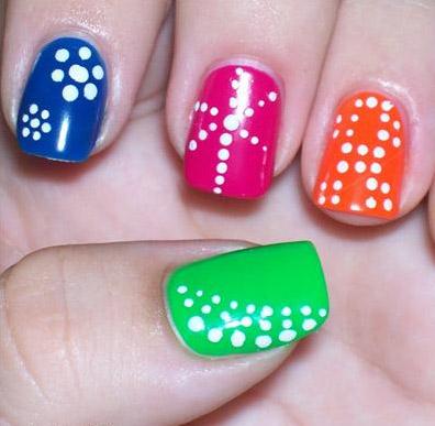 10 mẫu móng cực 'hot', Làm đẹp, mau mong, mau nail, ve mong, ve nail, nail 2011, mau mong 2011