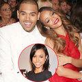 Làng sao - Bạn trai Rihanna vẫn yêu bạn gái cũ