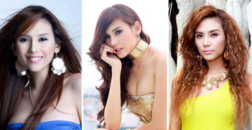 cham diem mau toc ngoc trinh - angela phuong trinh - 1