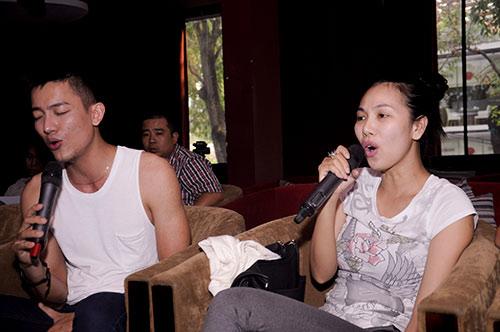 vuot scandal, my le hang say tap luyen - 11