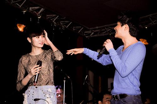 vuot scandal, my le hang say tap luyen - 14
