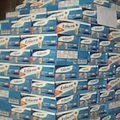 Tiêu và dùng - Thu giữ hơn 5000 chai sữa nước nhập lậu