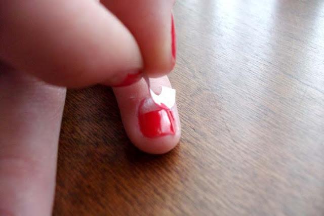 kieu nail vintage cho ky nghi - 7