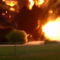 Mỹ: Hình ảnh tan hoang sau vụ nổ chấn động ở Texas