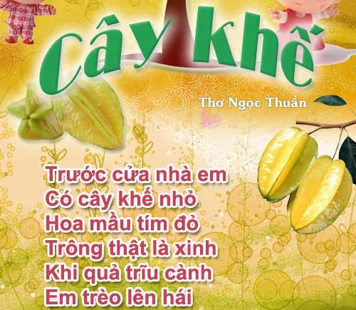 """me ke con nghe: """"cay khe"""" - 2"""