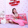 """Nhà đẹp - """"Lác mắt"""" phòng toàn màu hồng của Linh Rin"""