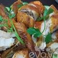 Bếp Eva - Tự làm gà quay tại nhà nhé chị em