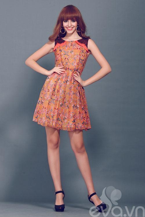 Chọn váy xòe xinh như An 'Tây'-3