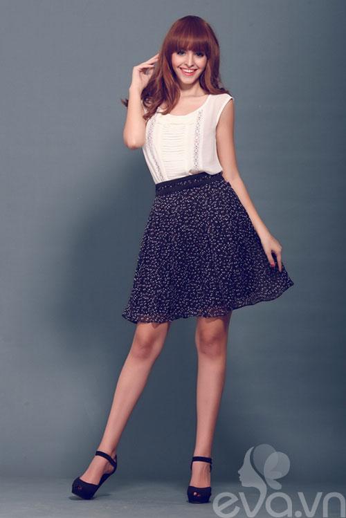 Chọn váy xòe xinh như An 'Tây'-9