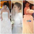 Thời trang - 3 váy cưới hàng hiệu rình rang showbiz