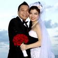 Làng sao - Lung linh ảnh cưới bí mật của Tăng Bảo Quyên