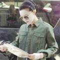 Làng sao - Phạm Băng Băng đắp mặt nạ ra phố