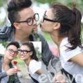 Làng sao - Cao Thái Sơn tặng hoa hồng cho Hồng Quế