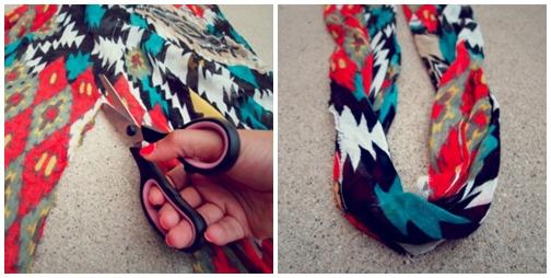Eva khéo tay: Biến hóa giày xinh cùng vải vụn - 11