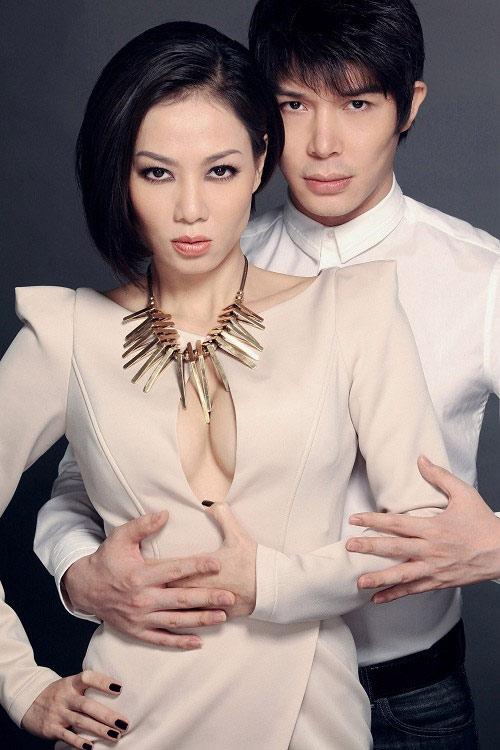 """nguong mo tinh ban """"keo son"""" cua sao viet - 6"""