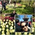 Làng sao - Thu Minh về quê chồng ngắm hoa tulip