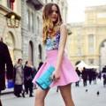 """Thời trang - Hi Eva: Chân váy ngắn """"gọi"""" tình yêu thức dậy"""