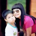 Làng sao sony - Ngắm con trai 6 tuổi của Ngọc Khuê