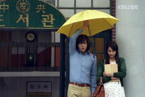 tinh yeu bung chay giua troi mua trong phim han - 1