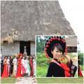 Người nổi tiếng - HH các dân tộc đến thăm ngôi nhà chung
