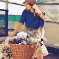 Thời trang - Hi Eva: Hoa rơi trên váy...